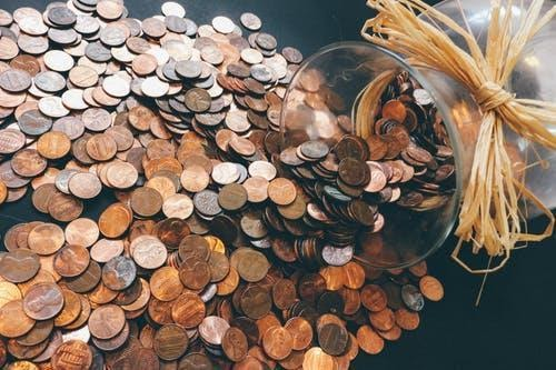 Copper-colored Coin Lot