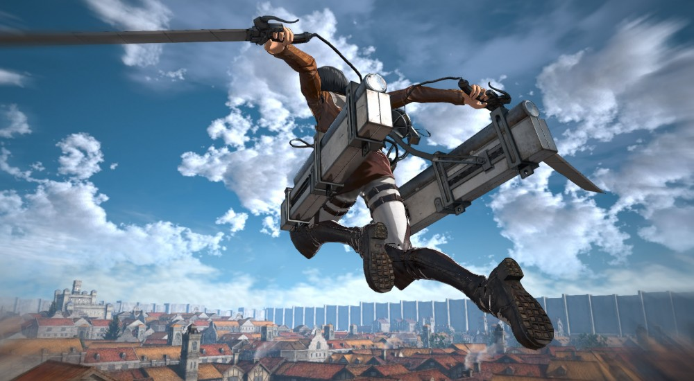 Attack on Titan details Scout Mode, Weapon Up
