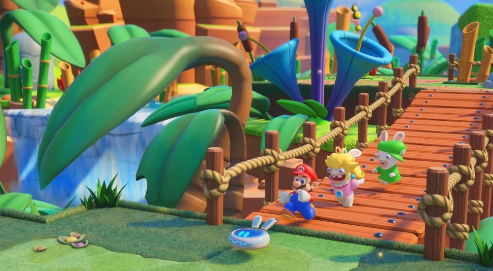 The Inside Of Mario + Rabbids Cover Is Absolutely Adorable