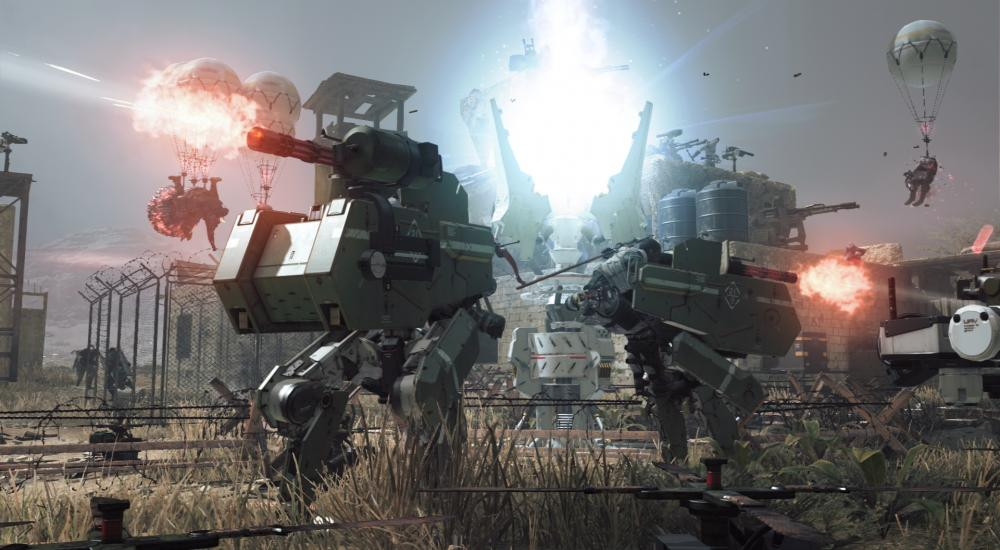 Konami published Metal Gear Survive Launch Trailer