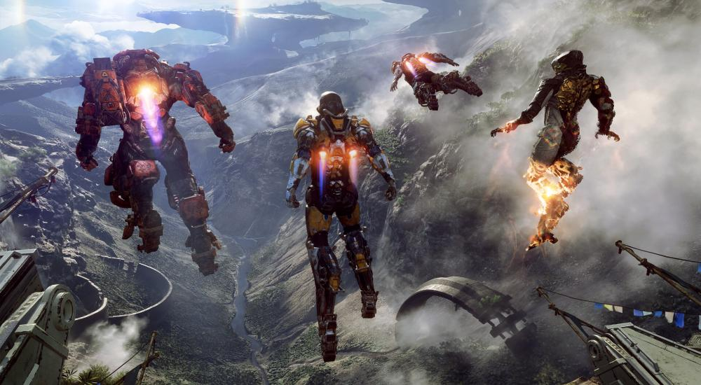 EA Reveal New Details About Anthem And A New Trailer