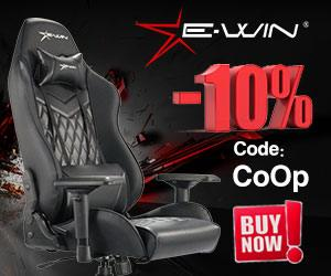 Use Code CoOp to Save 10% on EwinRacing