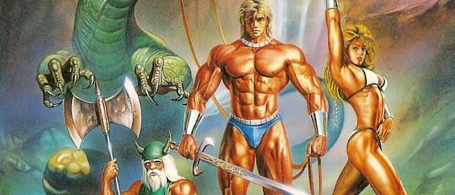 Golden Axe Japanese box