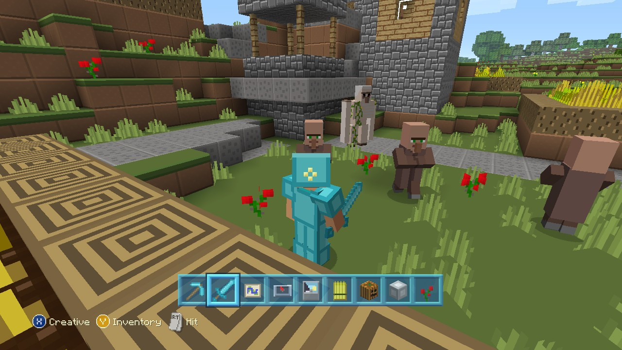 Co-Optimus - News - Minecraft: Xbox 360 Edition's 'Plastic' Texture Pack Arrives Today
