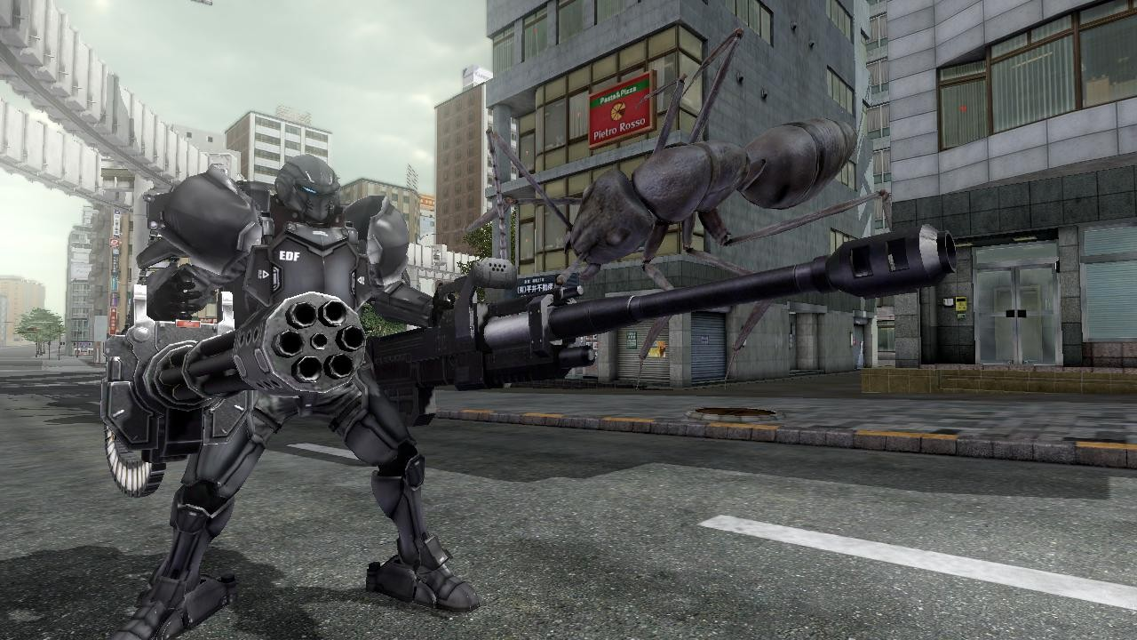 2025: Earth Defense Force 2025 Gets Fencer
