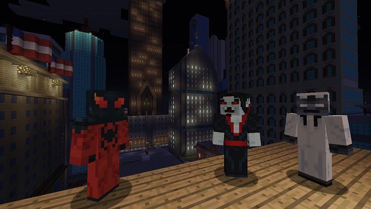 Morbius Xbox Version Minecraft Skin