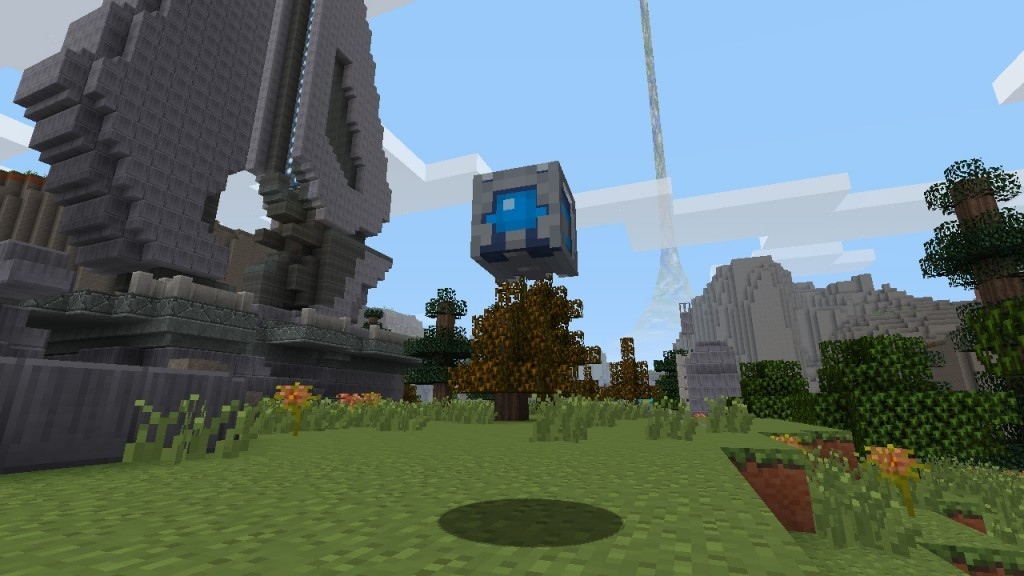 Co-Optimus - News - Details and Screens for Halo Texture Pack on Minecraft: Xbox 360 Edition