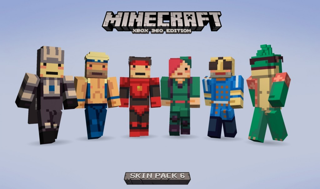 CoOptimus Screens Skin Pack DLC Is Now Available In Minecraft - Skins para minecraft ps3 gratis