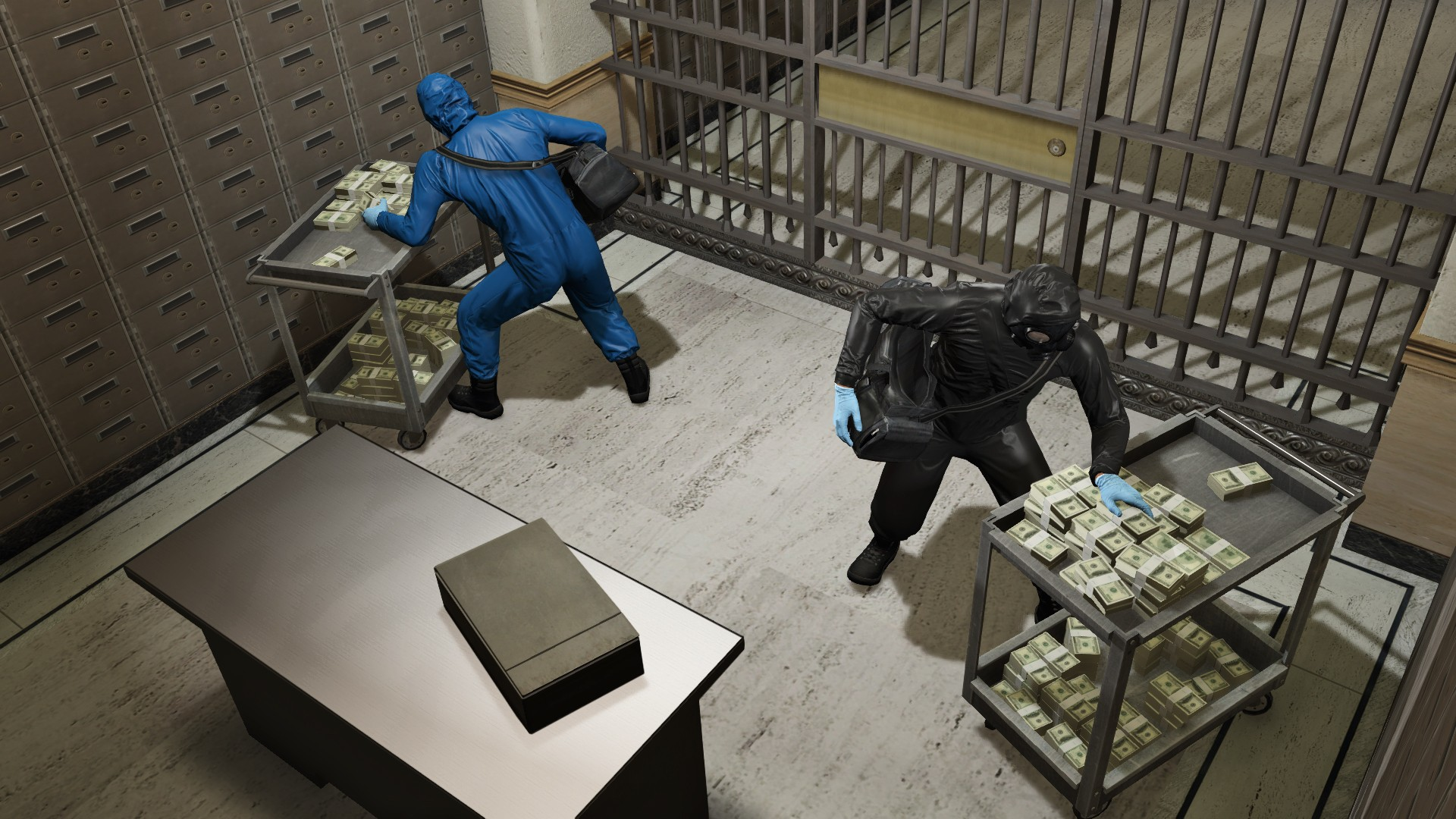 Co-Optimus - News - GTA V Heists Arrive Tomorrow, Data Size
