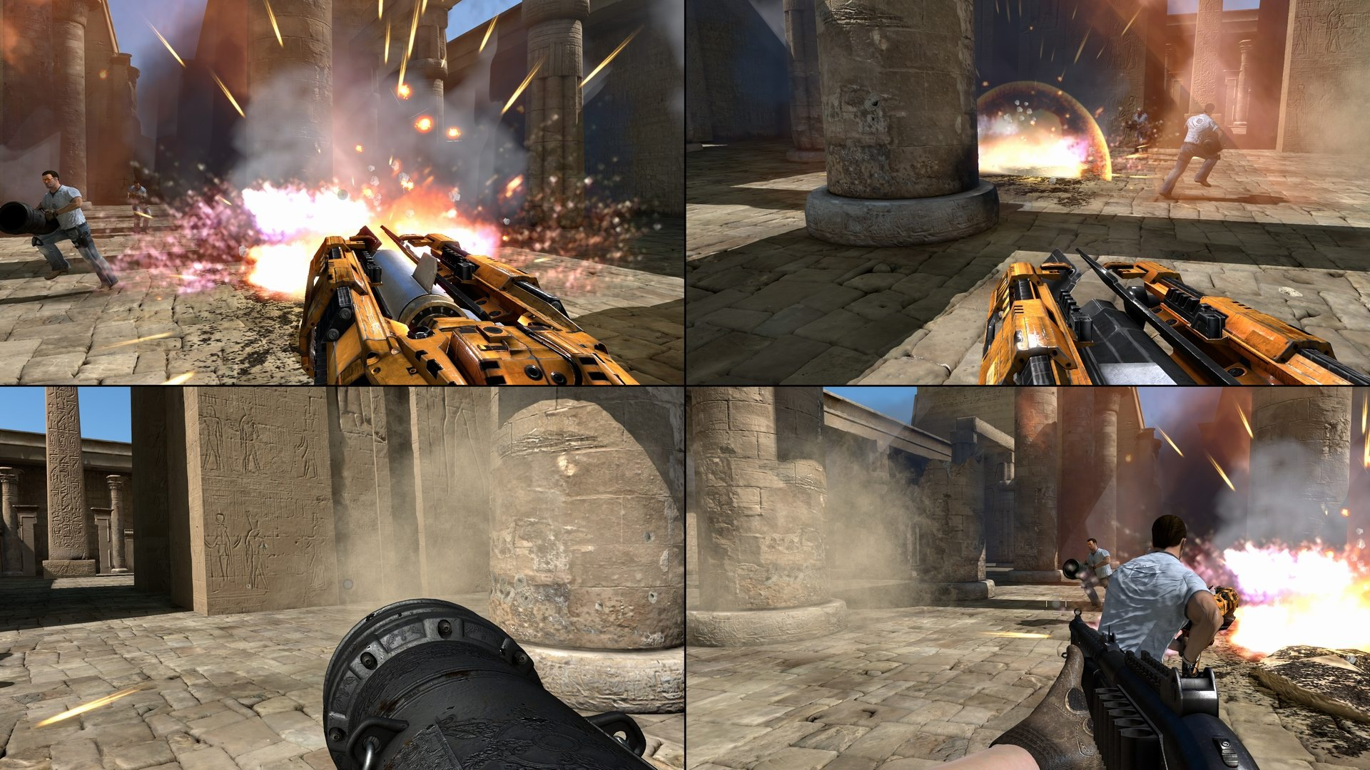 Co-Optimus - News - Serious Sam 3 Supports 4 Player Split ...