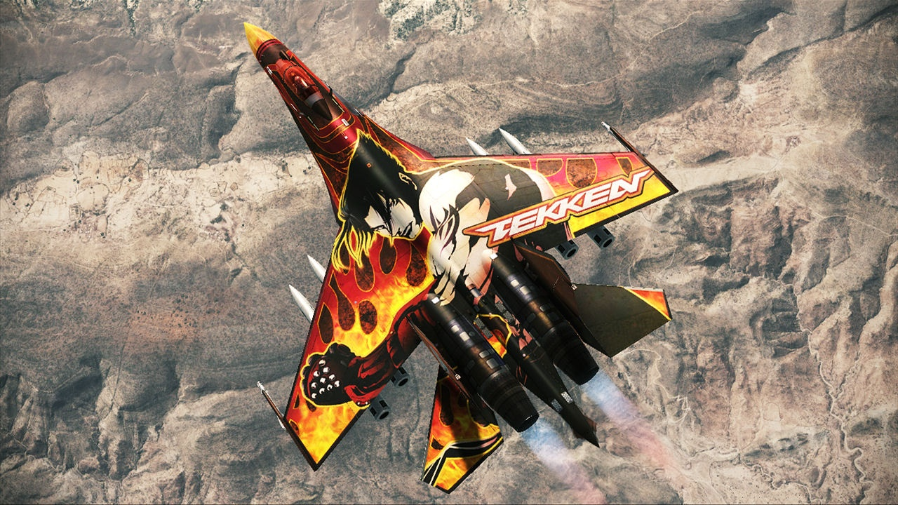 Co-Optimus - News - Tekkenize Your Planes in Ace Combat ...