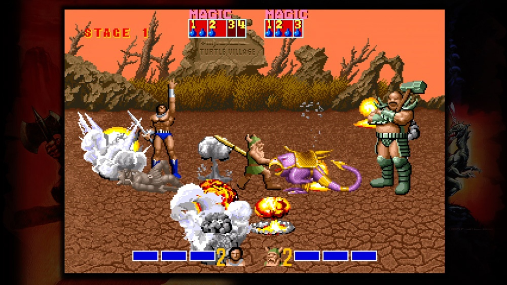 Golden Axe co-op