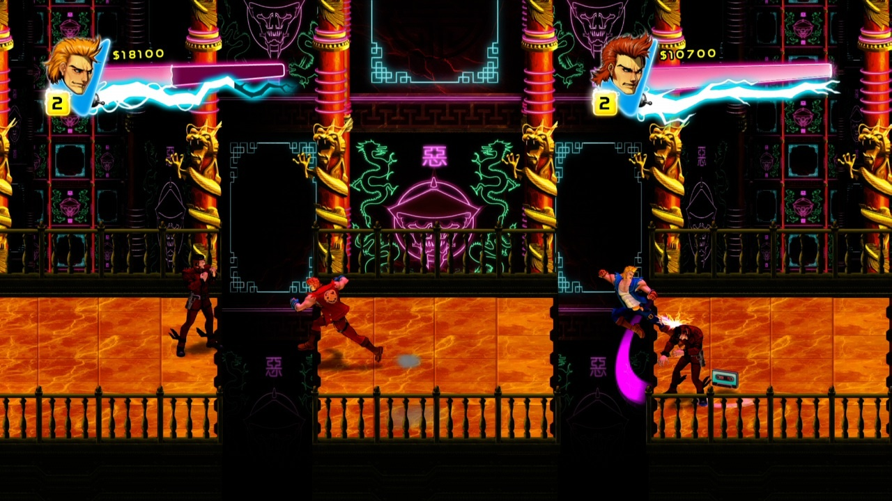 Double Dragon Neon Mission 10