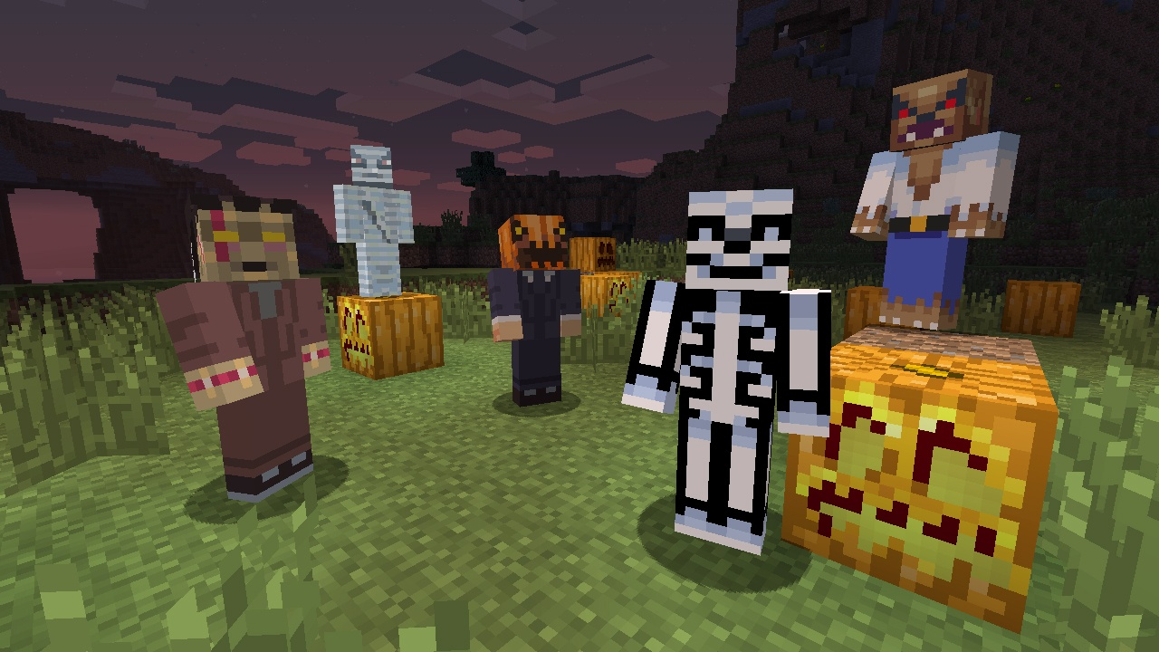 Co-Optimus - Screens - Grab Rare Halloween Minecraft Skins By