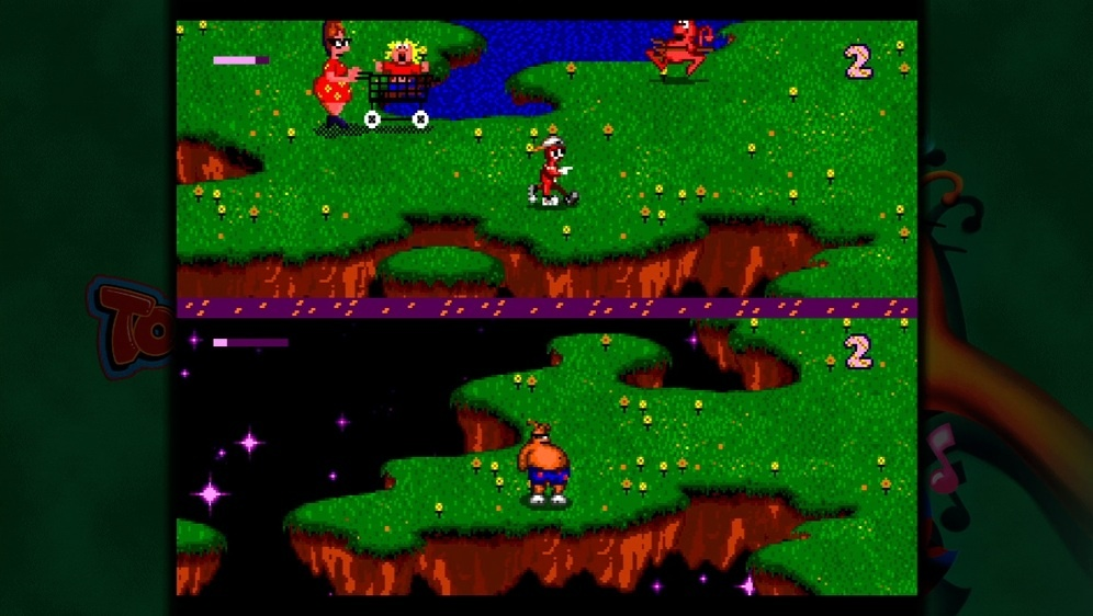 SVC: ToeJam & Earl split-screen