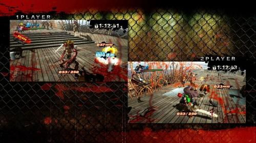 Onechanbara Z Kagura split-screen