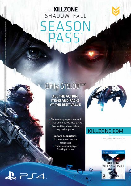 Killzone Shadow Fall Season Pass Co-Op