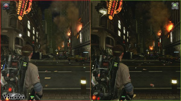 Xbox 360 And Ps3 Games : Co optimus news ghostbusters xbox and ps side by