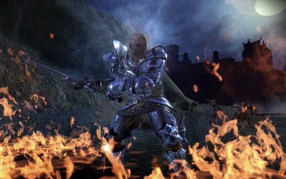 The PS3, Xbox 360, and PC versions of Dragon Age: Origins will be able to