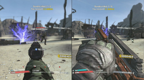 Borderlands (FPS+RPG) Borderlands_split