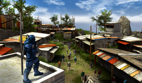 One of the biggest releases next year for co-op gamers will be Crackdown 2.