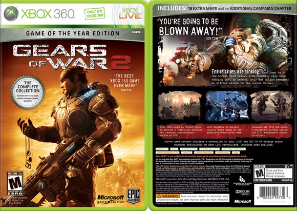 Gears of war 2 game of the year edition casino attendance policies