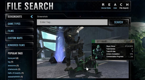Co Optimus News Halo Reach Meets Facebook In The New Bungie Net
