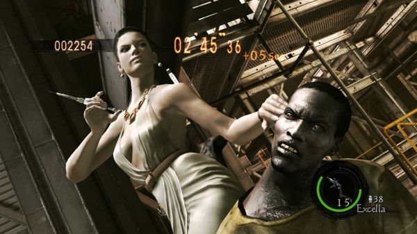 Co Optimus News Sultry Excella And Hard Nosed Josh Resident Evil 5 Videos Unveiled