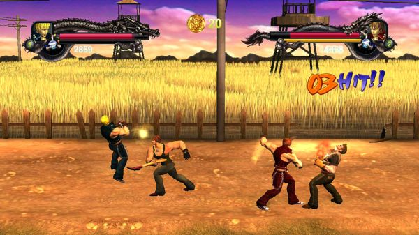 Co Optimus Screens 3d Double Dragon Ii Remake Coming To Xbla As Wander Of The Dragons