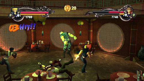 Co Optimus Screens 3d Double Dragon Ii Remake Coming To Xbla