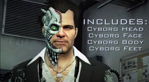 Co Optimus Video Check Out Cyborg Frank West In This Dead