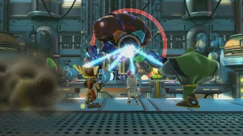 Co Optimus Review Ratchet And Clank All 4 One Co Op Review