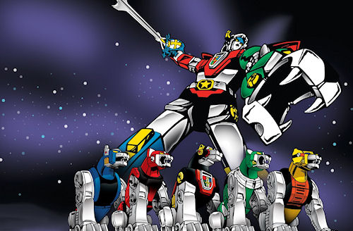 Co-Optimus - News - Voltron Game in the Works, I'll Form the Head