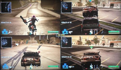 ps3 split screen games 4 player