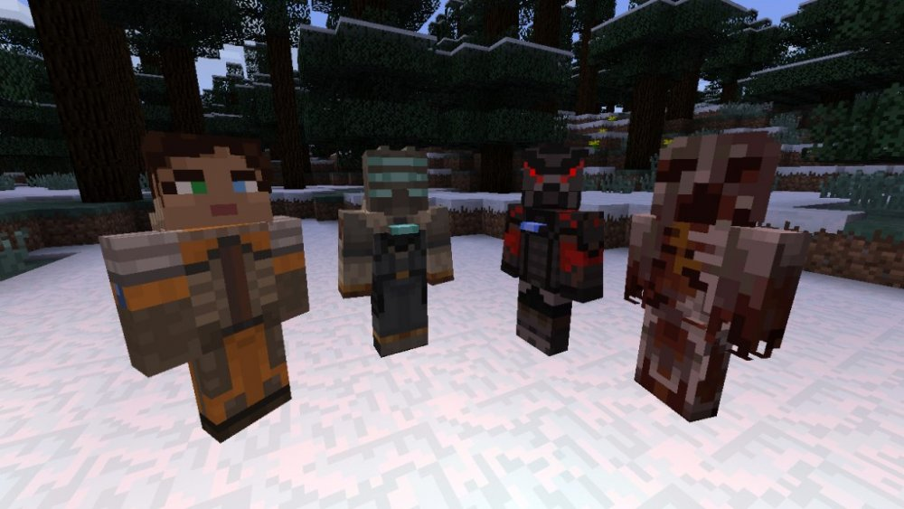 Co-Optimus - News - Minecraft's 'Skin Pack 5' Will Include Borderlands 2 and Dead Space 3 Characters