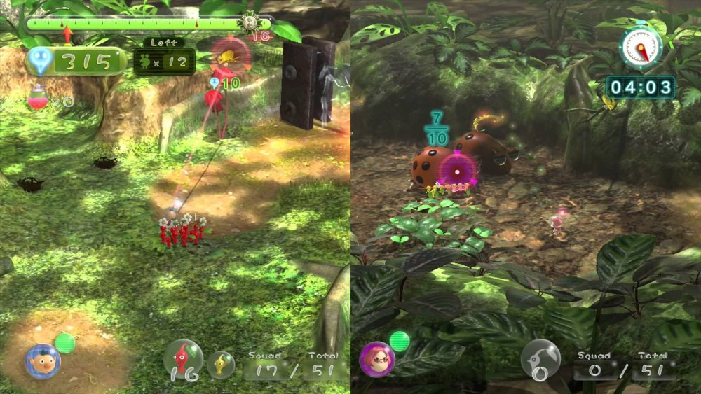 Co Optimus Review Pikmin 3 Co Op Review
