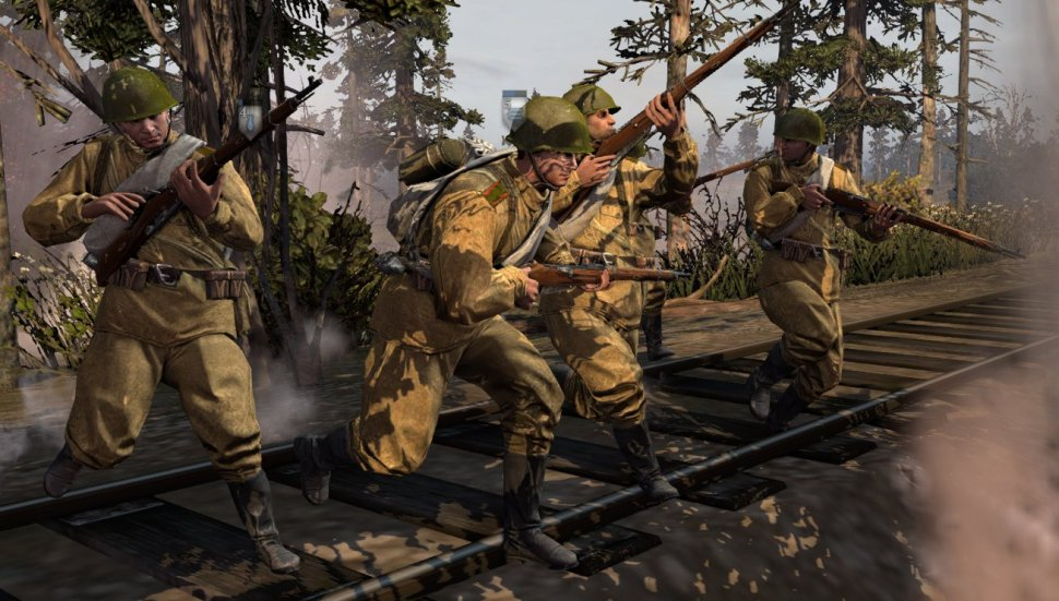 Co Optimus Review Company Of Heroes 2 Co Op Review