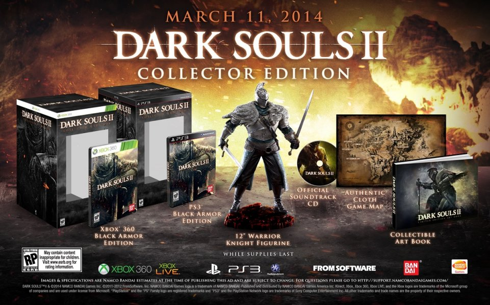 Original Game Cases & Boxes case Only Buy Cheap Steelbook Collectors Darksouls 2