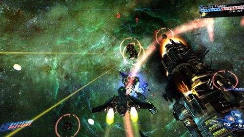 Co Optimus Screens Dawnstar Brings Co Op Space Combat And Loot