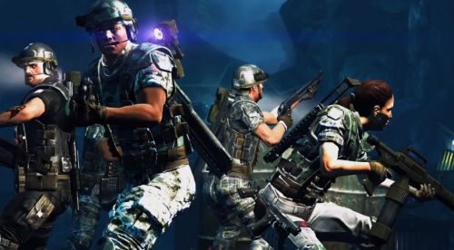 Aliens Colonial Marines PS3 - FIRST HOUR GAMEPLAY HD