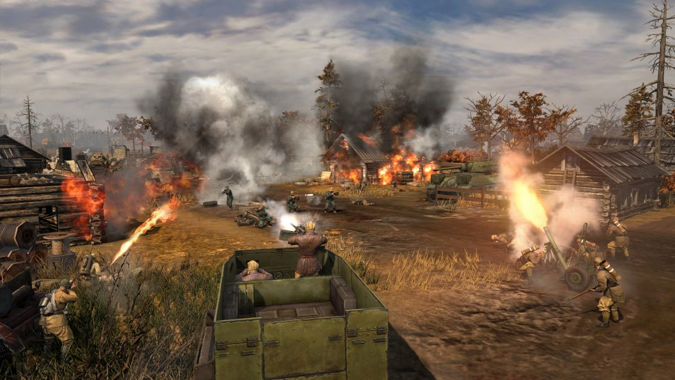 Co Optimus News Company Of Heroes 2 Adds Co Op Gameplay