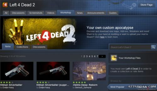 Co-Optimus - News - Valve's Left 4 Dead 2 Steam Workshop