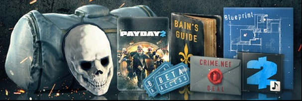 Co-Optimus - News - Check Out PAYDAY 2's Pre-order Bonuses and