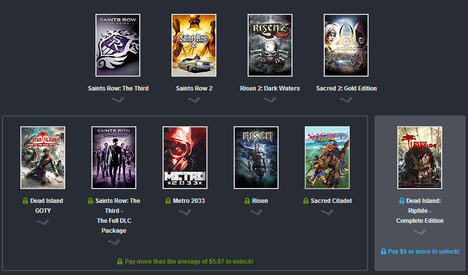 Newest Humble Bundle Includes Saints Row, Dead Island, & More