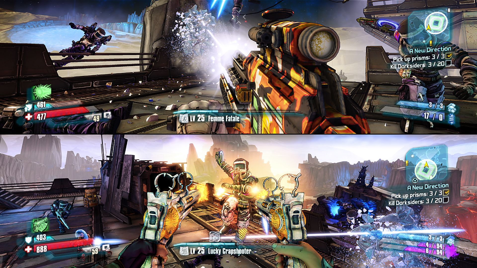 Co-Optimus - Review - Borderlands: The Pre-Sequel Co-Op Review