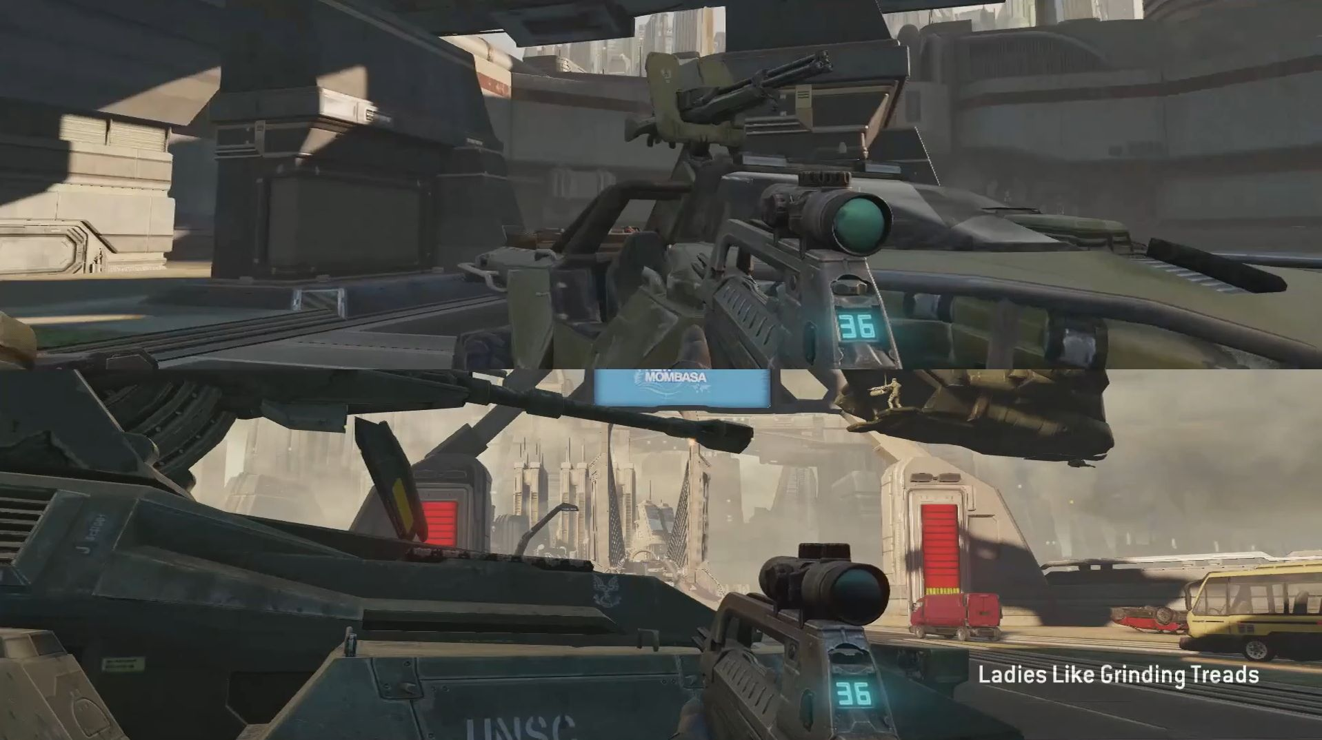 Halo 1 and 2 Split