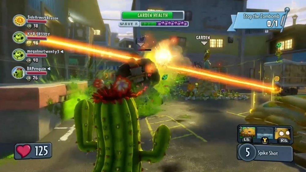 Co-Optimus - Review - Plants vs  Zombies Garden Warfare Co