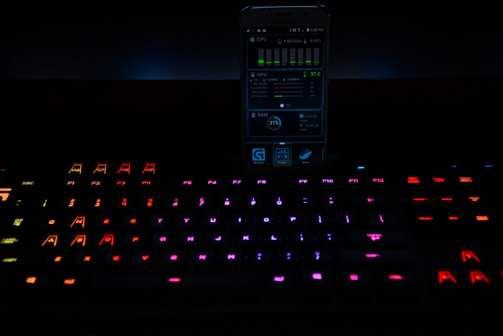 Co-Optimus - News - Logitech G910 Orion Mechanical Keyboard