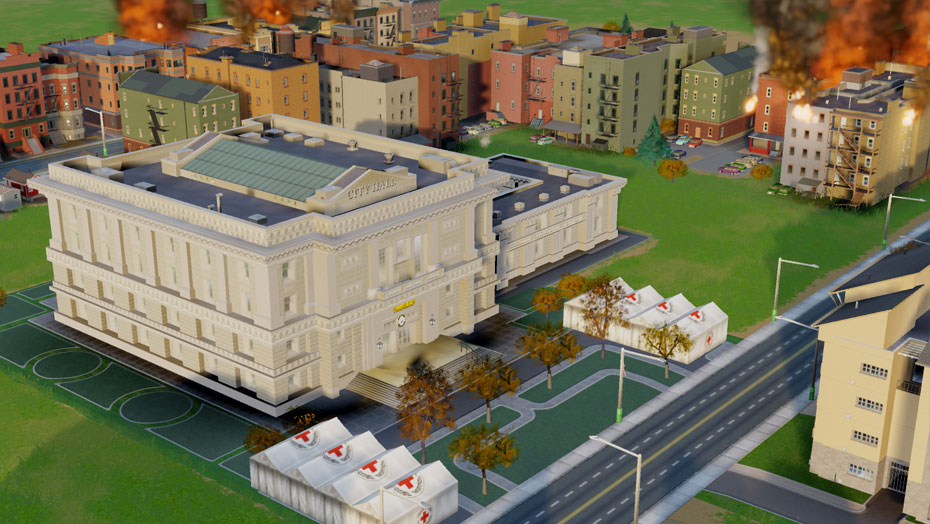 SimCity Red Cross DLC co-optimus