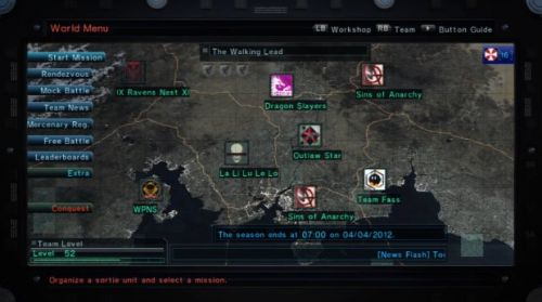 Armored Core V map